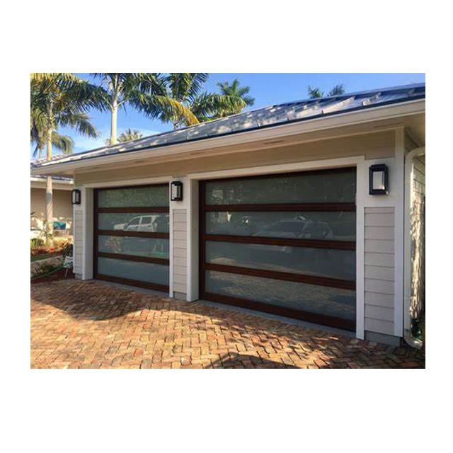 electric garage doors prices customized classic aluminum automatic garage door