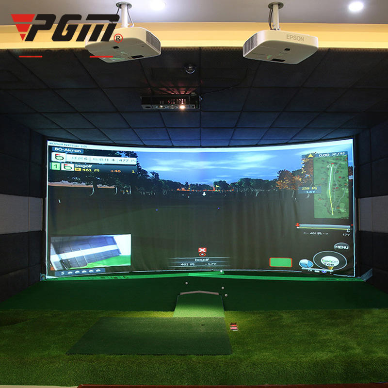 PGM Indoor High Division 3D Golf Simulator for Golf Trainning and Coaching