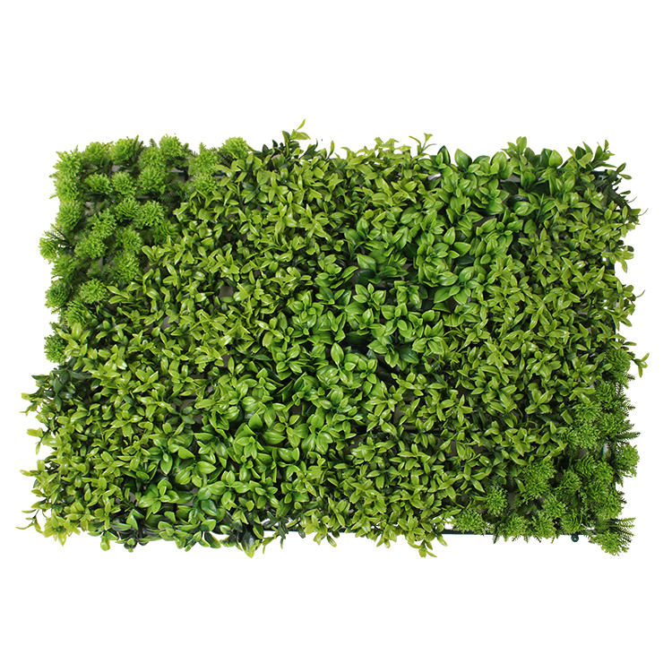 New style Plant Wall Decoration Lawn Green Cedar grass Encryption Artificial Flowers Plastic Flowers Lawn
