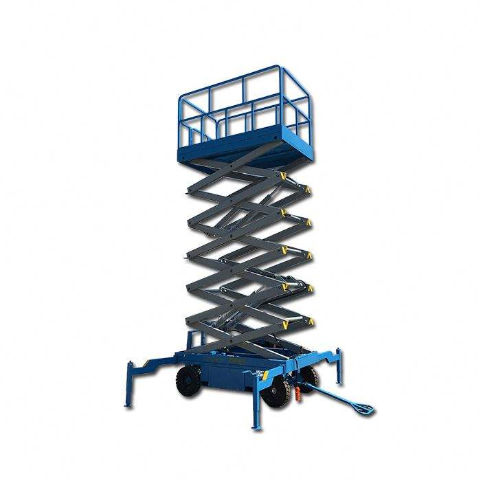 High quality hydraulic mobile electric lift table