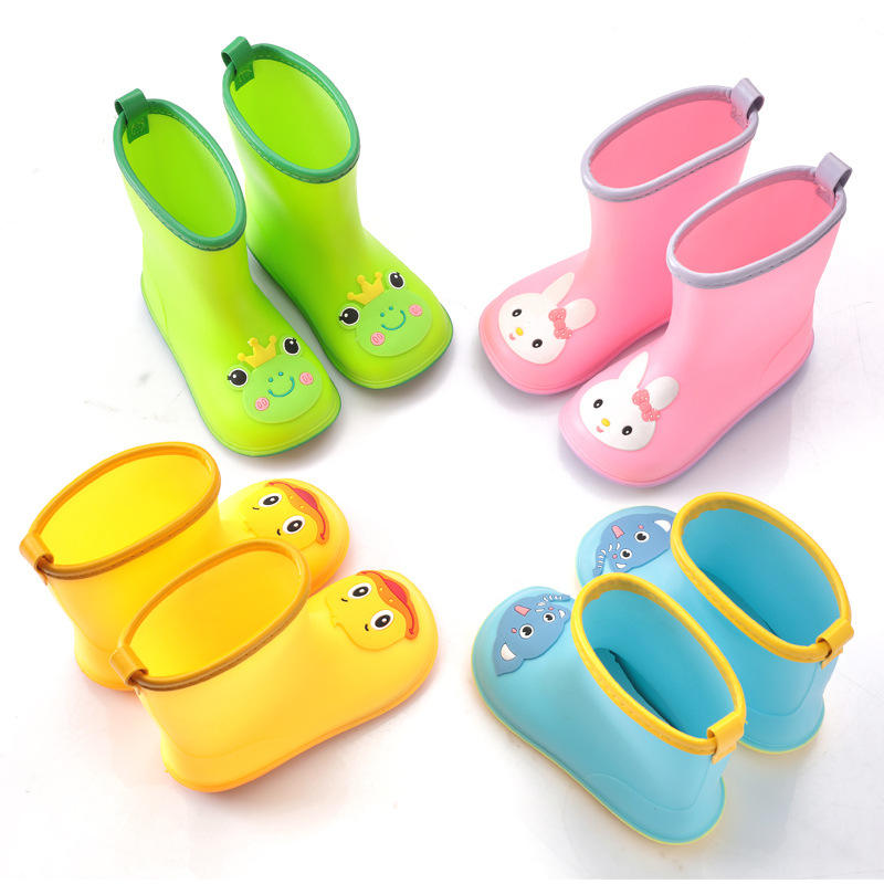 Easy On Waterproof Baby Kids Rain Shoes Boots For Toddler Little Child M90929