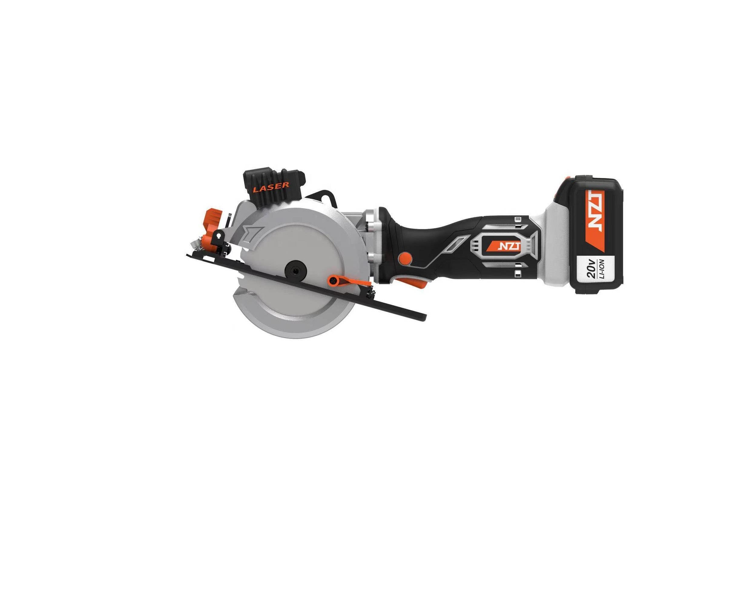 Cordless high quality electric hand-held mini circular saw