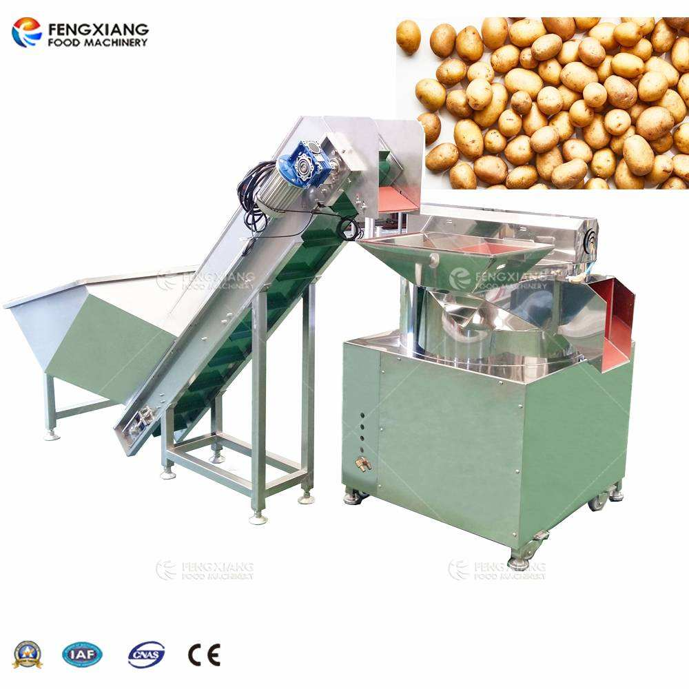 Potato Chips Processing Peeler Machine