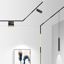Modern Flexible Architectural 3 Circuit DALI Dimmable Ceiling  Surface/ Recessed/ Pendant Focus LED Track Rail Lighting System