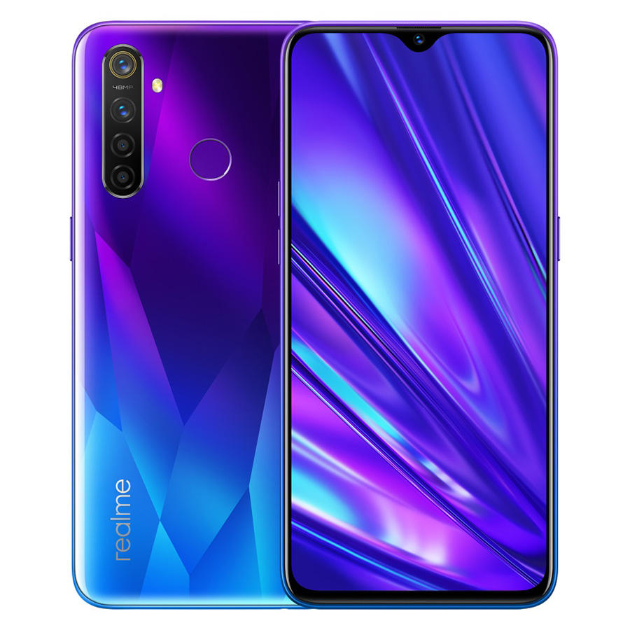Asli Realme Q Realme 5 PRO Versi Global Smart Mobile Phone 6.3 ''Snapdragon 712AIE Octa Core 48MP Quad Kamera 4035 MAh