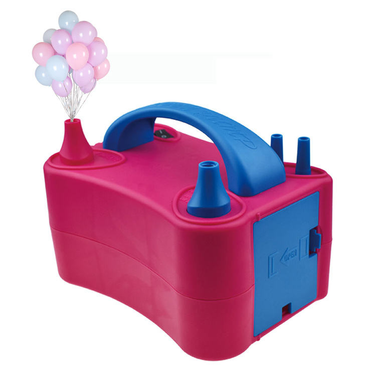 Sup electric pump balloon rose red celebration party balloons accessories