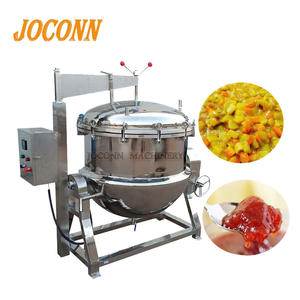 Industrial 500L high pressure vegetable cooking pot/ fruit sauce pressure cooker/ hard bone soup cooking machine with pressure