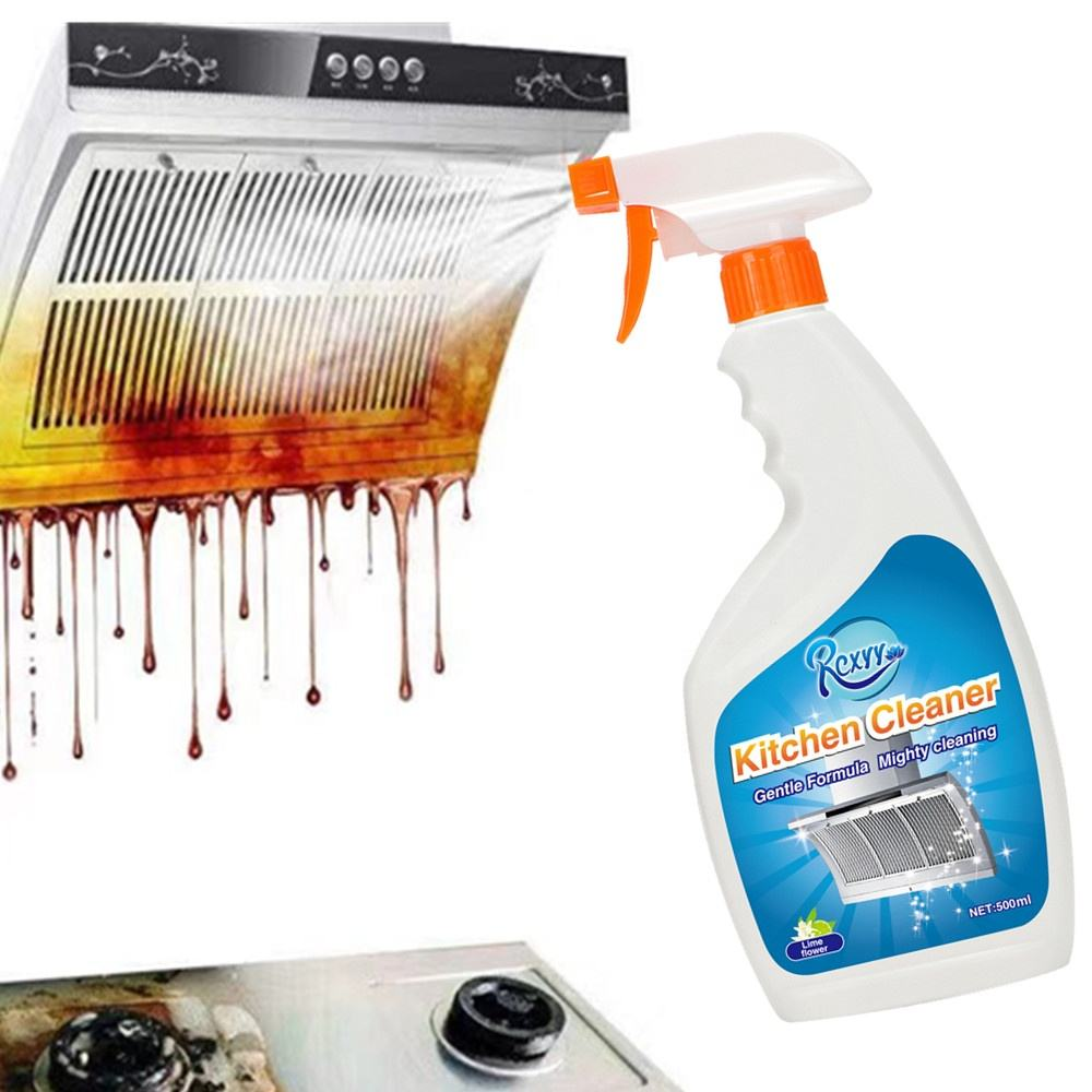 Hood Gas Cooker Pot Sink Surfaces Liquid Cleaning Cooking Oil Removal Detergent Kitchen Cleaner