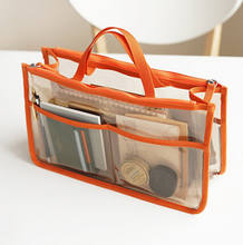 Custom Multifunctional Waterproof Wash Gargle Storage Bags Eva Transparent Double Zipper Cosmetics Plastic Bag