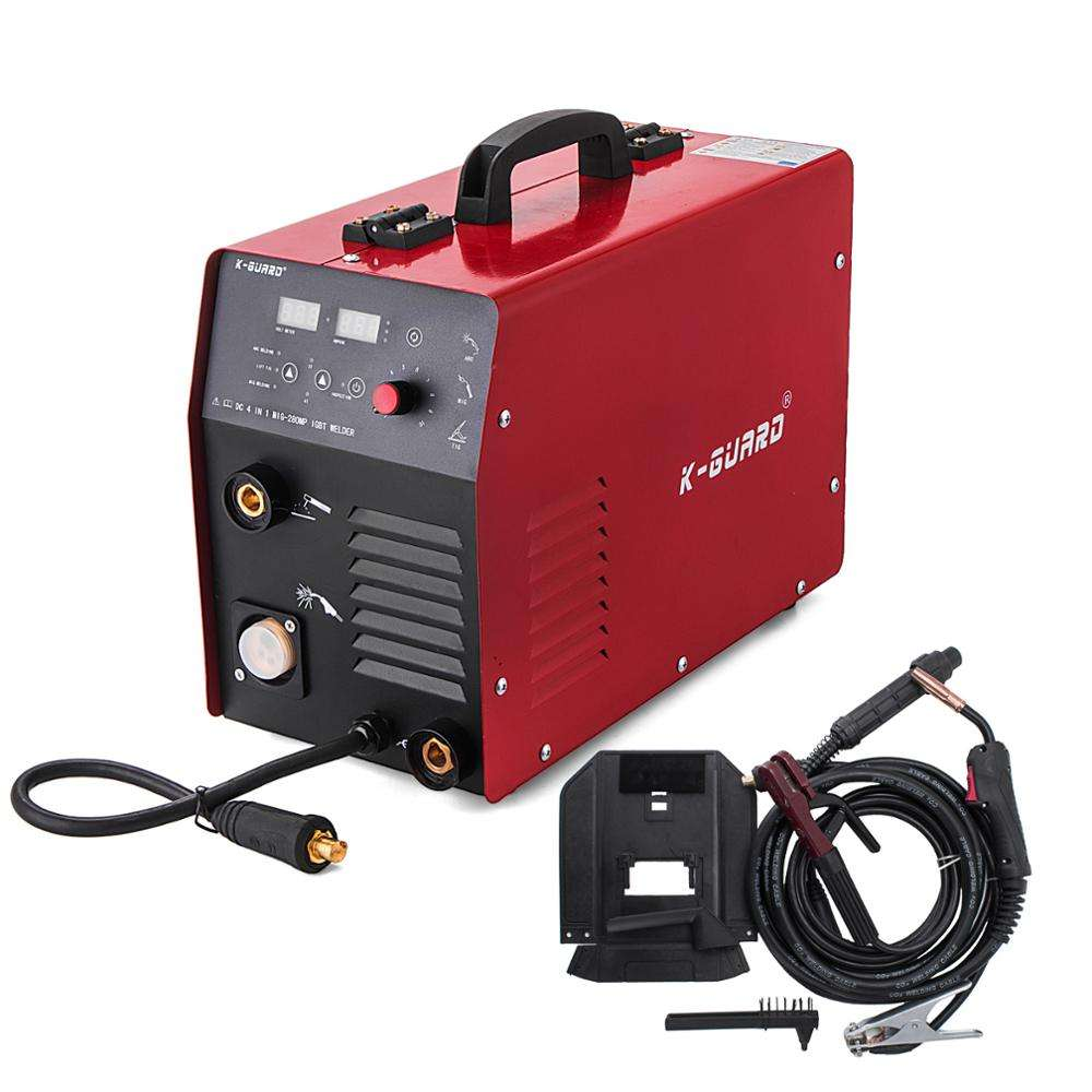 Inverter Welder 280A IGBT <span class=keywords><strong>MIG</strong></span> & MMA 2 in 1 Portable Welding Machine