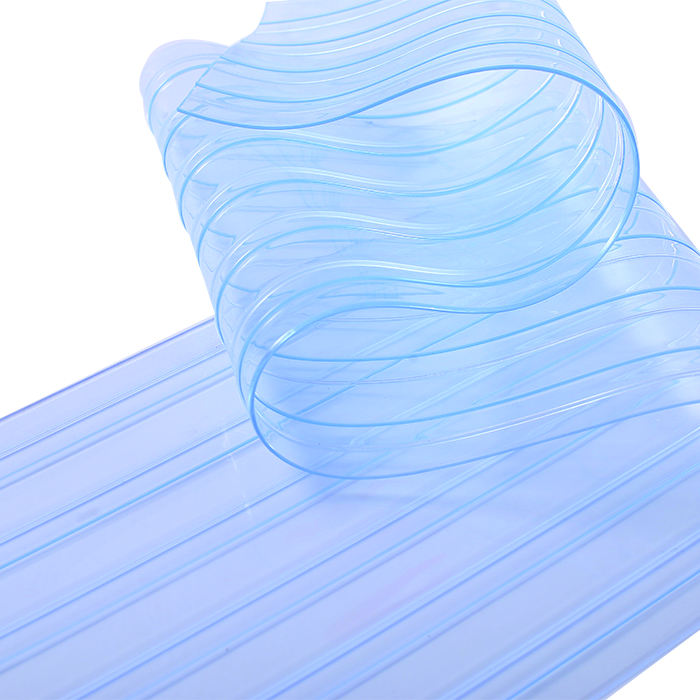 one Layer 2mm industrial pvc flexible strip door clear sound proof curtain garage door windows table clothes