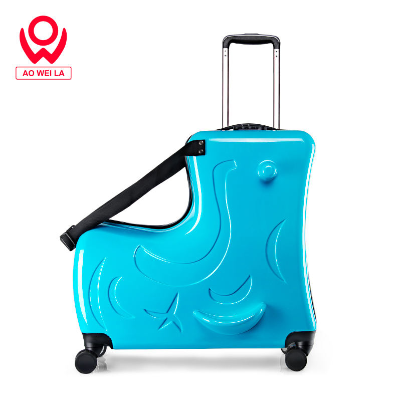 Oem Fashion Riding Suitcase,Suitcase20,Purple Aluminium Luggage