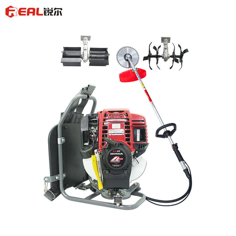Easy Use Gasoline Petrol Grass Eater Good Service Powerful GX35 42.7cc 0.7KW 4 Stroke Brush Cutter