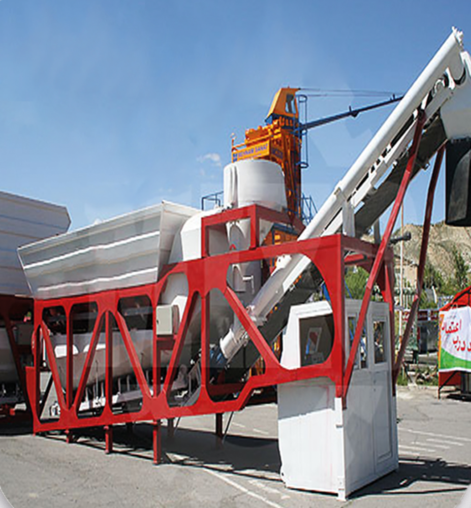 PORTABLE CONCRETE BATCHING PLANT - MOBILE