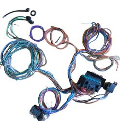12 Circuit Wiring Harness Kit Hot Rod Universal vehicle customize  Universal for Muscle Car Hot Rods Street Rods New