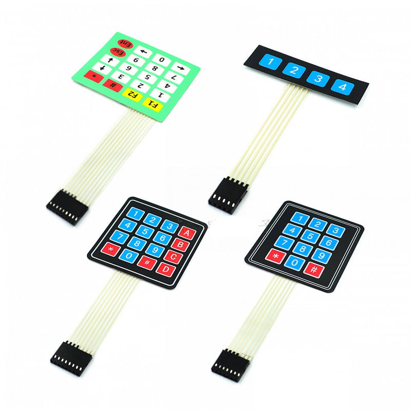 1*4 4*4 4*5 Matrix Array/Matrix Keyboard 16 Key Membrane Switch Keypad 1x4 4x4 4x5