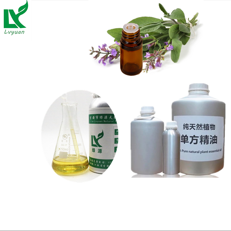 Manufacture Supply Sage Leaf Extract Oil Sage Oil Bulk For Food Additive