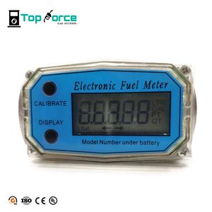 Electronic digital pulser turbine flow meter with high precision for fuel diesel gasoline
