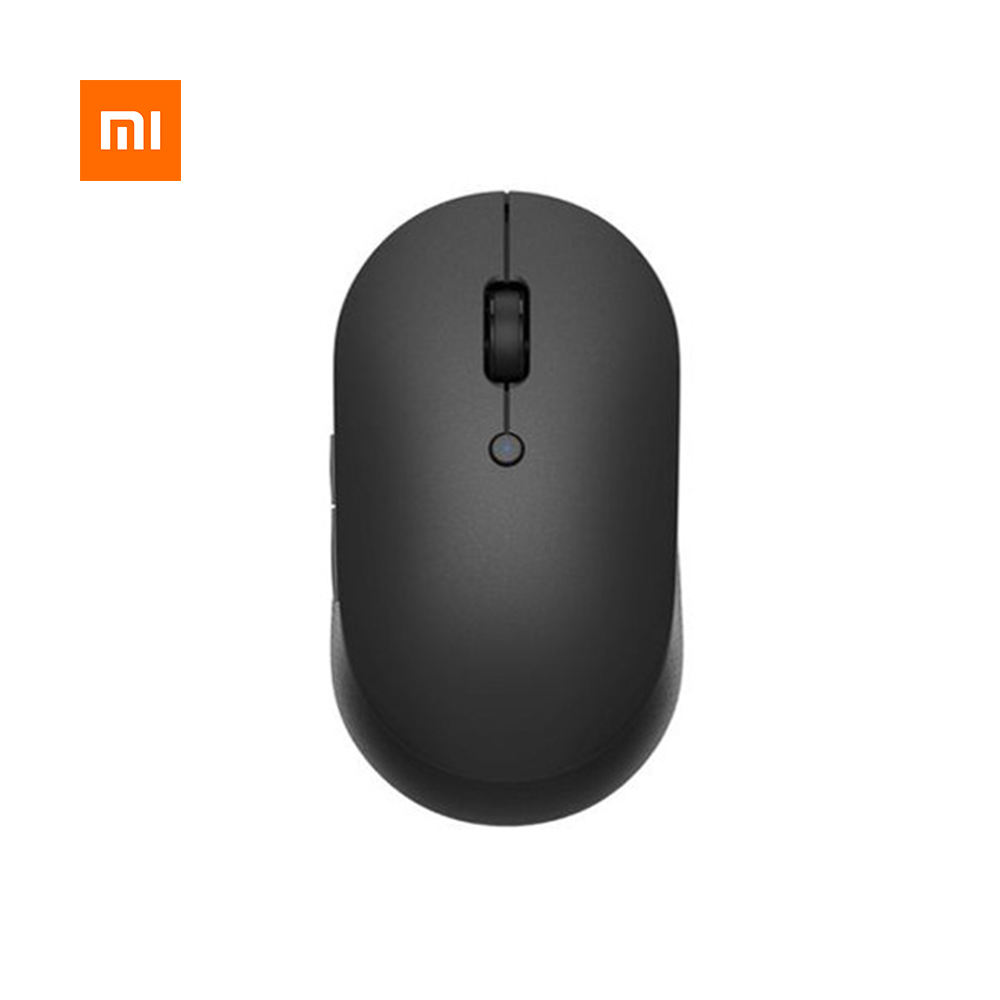 Original Xiaomi MI Wireless Mouse Silent Edition For Macbook Notebook Laptop Portable Mouse Mi Dual Mode Wireless Mouse