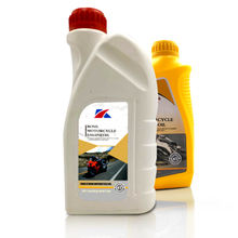 4T Small Package 15W40 OEM Yellow Bottle Factory 1L High Quality Cheap Motorcycle Engine Oil
