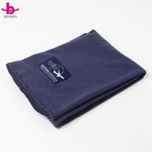 Polyester Airline Blanket Polar Fleece Airline Blanket Logo Airline Blanket
