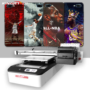 6090 uv printer inkjet flat bed uv led printing machine cheap small a2 a3 a4 varnish digital flatbed uv printer