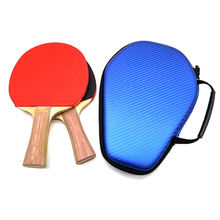 Professional Custom PingPong Paddle Set Table Tennis Racket Case