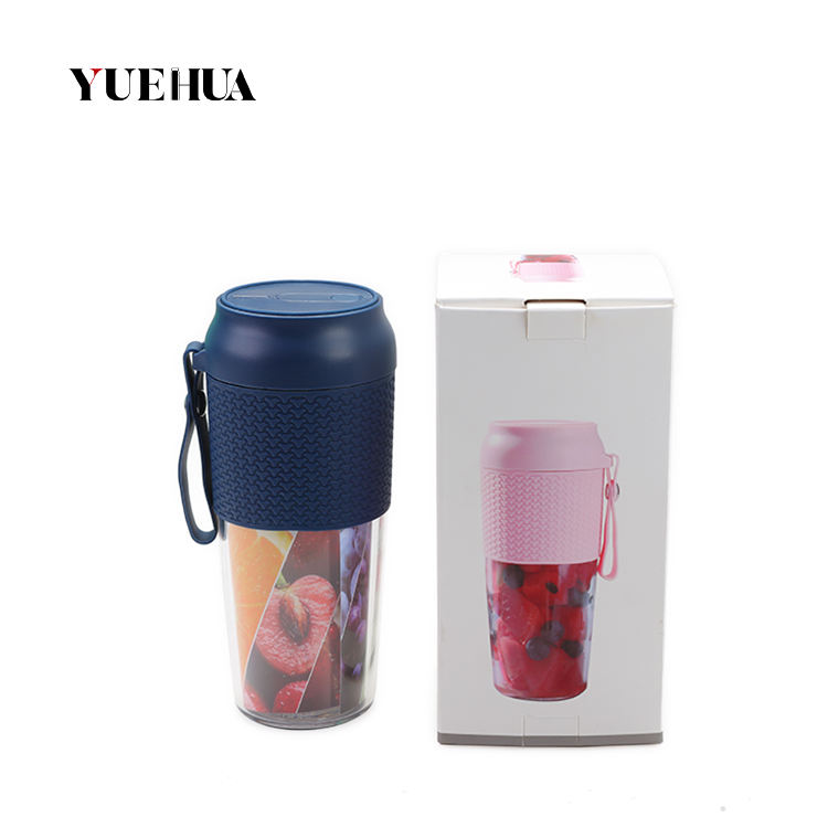 BPA Free Tritan Portable Blender Juicer, Cordless Personal Electric USB Mini Mixer, Waterproof Smoothie Blender Rechargeable