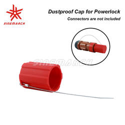 Dustproof Cover for 400 Amp Powerlock Connector Line Drain Soft Touching Anti-lost Rope