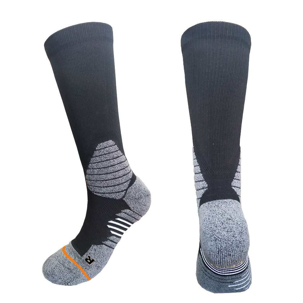 Wholesale 100% merino wool sock crew comfortable durable ski merino sport socks