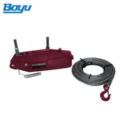 Hoist Wire Rope 20 Ton Wire Rope Steel Pulley Manual Pulling Machine Tirfor
