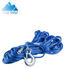 XINQI  Synthetic Winch Line Cable Rope with Sheath ATV UTV Blue CE With High Quality Synthetic Winch Rope