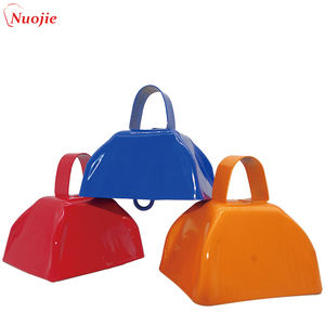Noise maker cowbell,bell factory wholesale best price cow bells customized multicolor cowbell livestock/