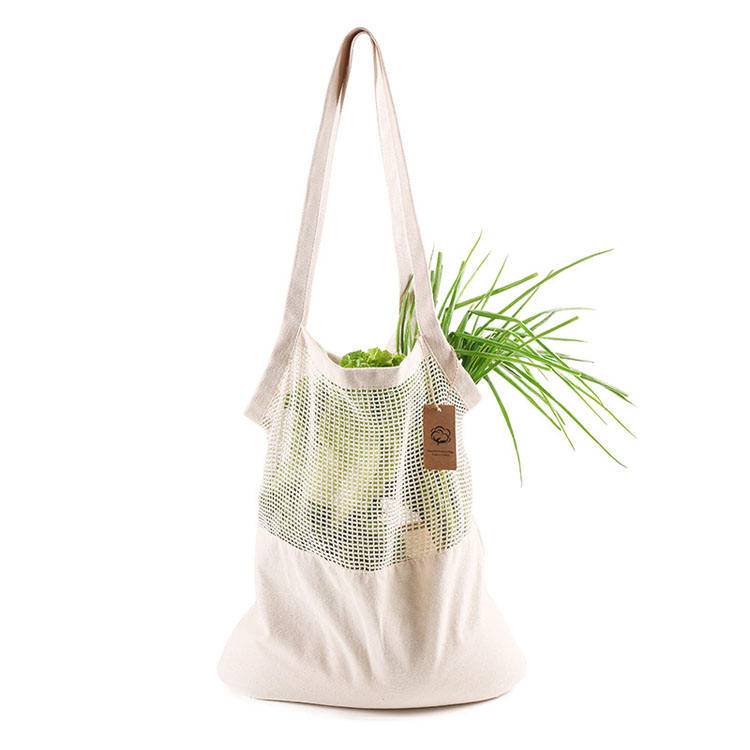 Eco Friendly Cotton Shopping Bag Ecobag Fruits And Vegetables Cotton Shopping Bag