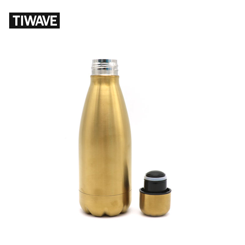 TIWAVE Hot Selling Double Wall Vacuum Insulated Stainless Steel Water Bottle with Lid