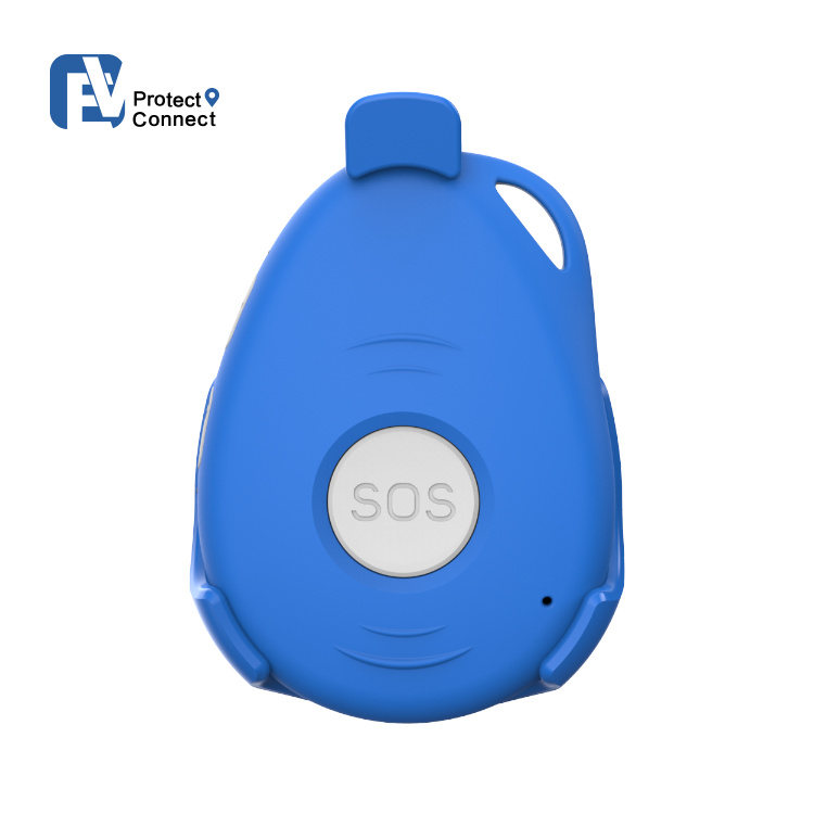 LLavero de alarma de emergencia Personal EV07, Detector de movimiento, rastreador GPS, alerta de caída