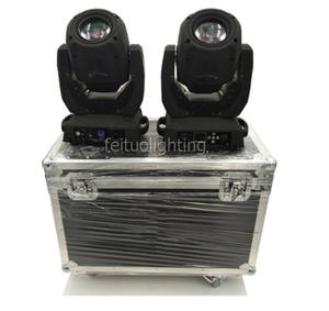 2 in1 fly case (free shipping) Beam 7r 230W Mini Beam 230 Moving Head DJ Party Stage Moving Head Beam Lighting