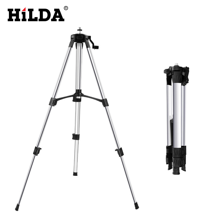 1.5M Laser Level Tripod Adjustable Height Thicken Aluminum Tripod Stand For Self leveling