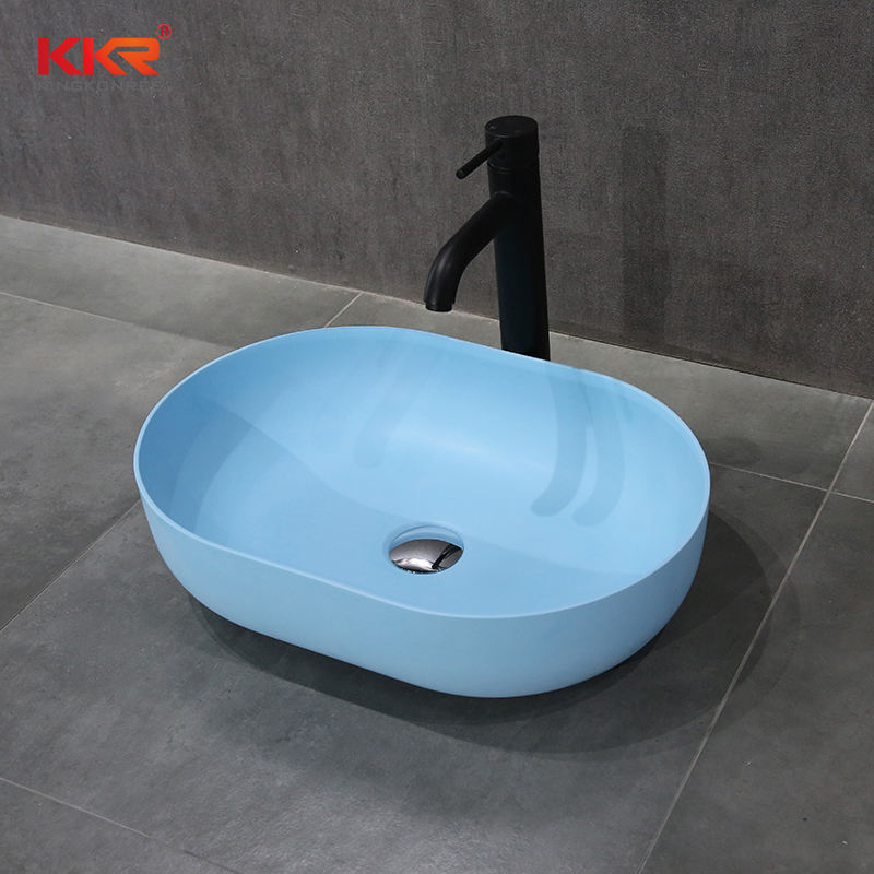 CUPC Modern Designs Artificial Stone Bathroom Sink Basin