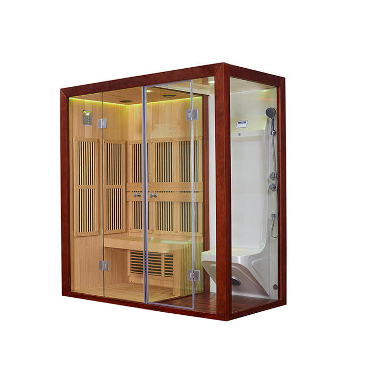 Spectrum room for 1 person infrared sauna room home spa fitness