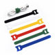 Nylon Tie Nylon Loop Cable Tie Hot Sell Colorful Nylon Hook And Loop Cable Tie