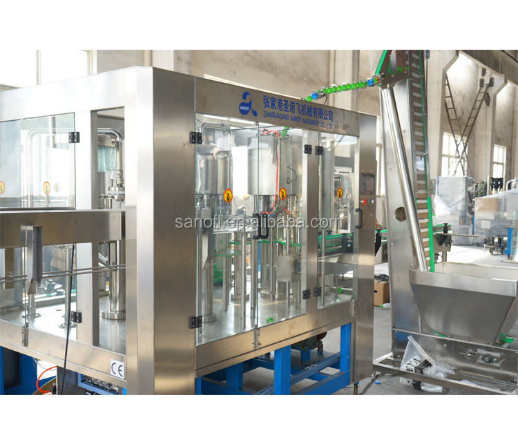 2019 Mineral water bottle filling machine/plant/system