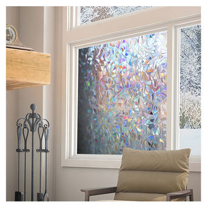 pvc laser window film static frosted film for home