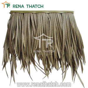 Synthetic grass price fire rated thatch roofing