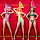 Fruit Party Headdress Sexy Bodysuit Nightclub Bar Female Singer DJ DS Stage Costume Rave Outfit Performance Clothing