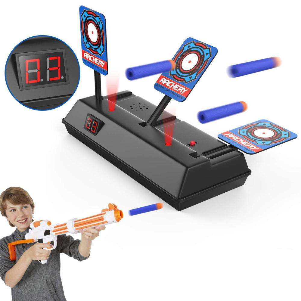 Auto Electronic Shooting Target Stand Scoring Auto Reset Digital Targets for Guns Toys