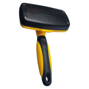 Self Cleaning Slicker Brush Shedding Grooming Tool Gently Removes Loose Undercoat for Pets