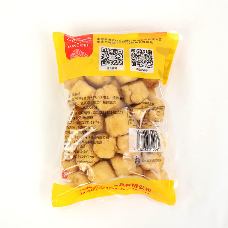 Delicious natural fried bean curd