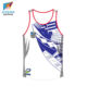 Dry Fit Mesh Fabric Custom Men's Work Out Tank Top for Training