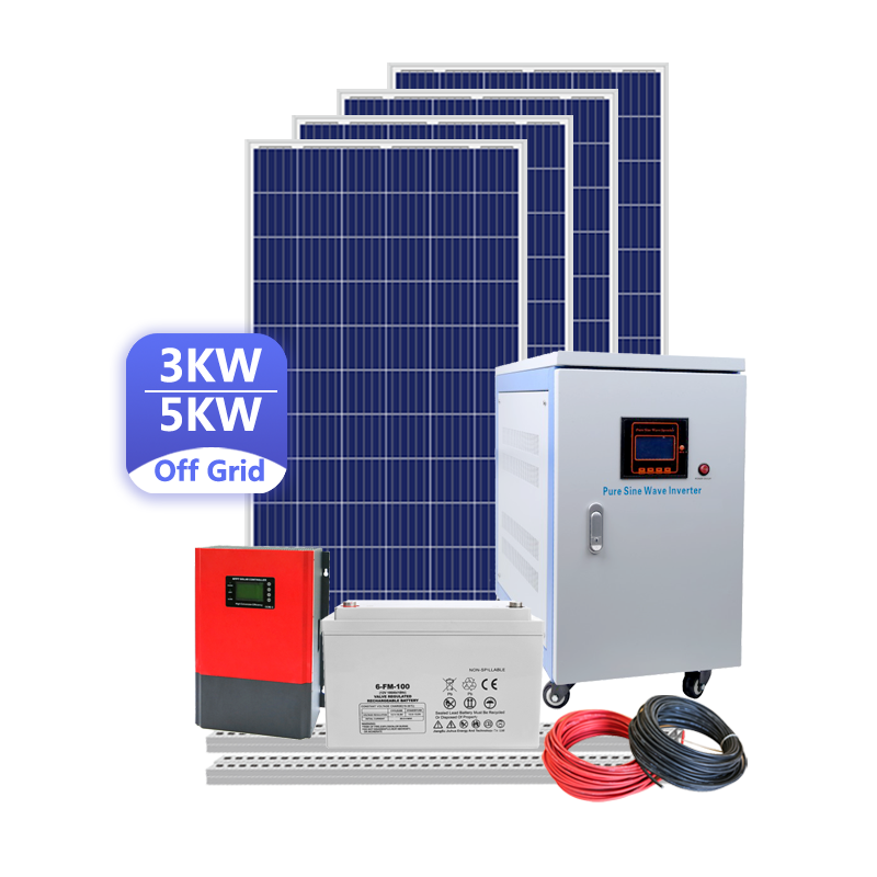 Solar Panel Kit Set For Home 2 Kw Diy Solar Panel System 5Kva Kits